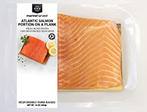 Marine Harvest Fresh Atlantic Salmon On Cedar Plank, 1 Lb