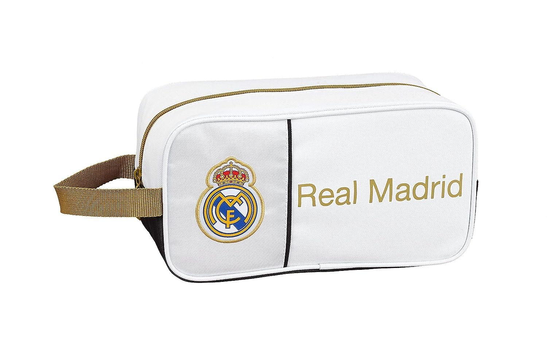 Real Madrid CF 811954682, Zapatillero Unisex niños, Blanco, 29x15x14: Amazon.es: Zapatos y complementos