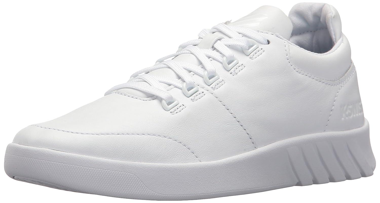 K-Swiss Women's Aero Trainer Sneaker B072FK63N7 8.5 B(M) US|White/White