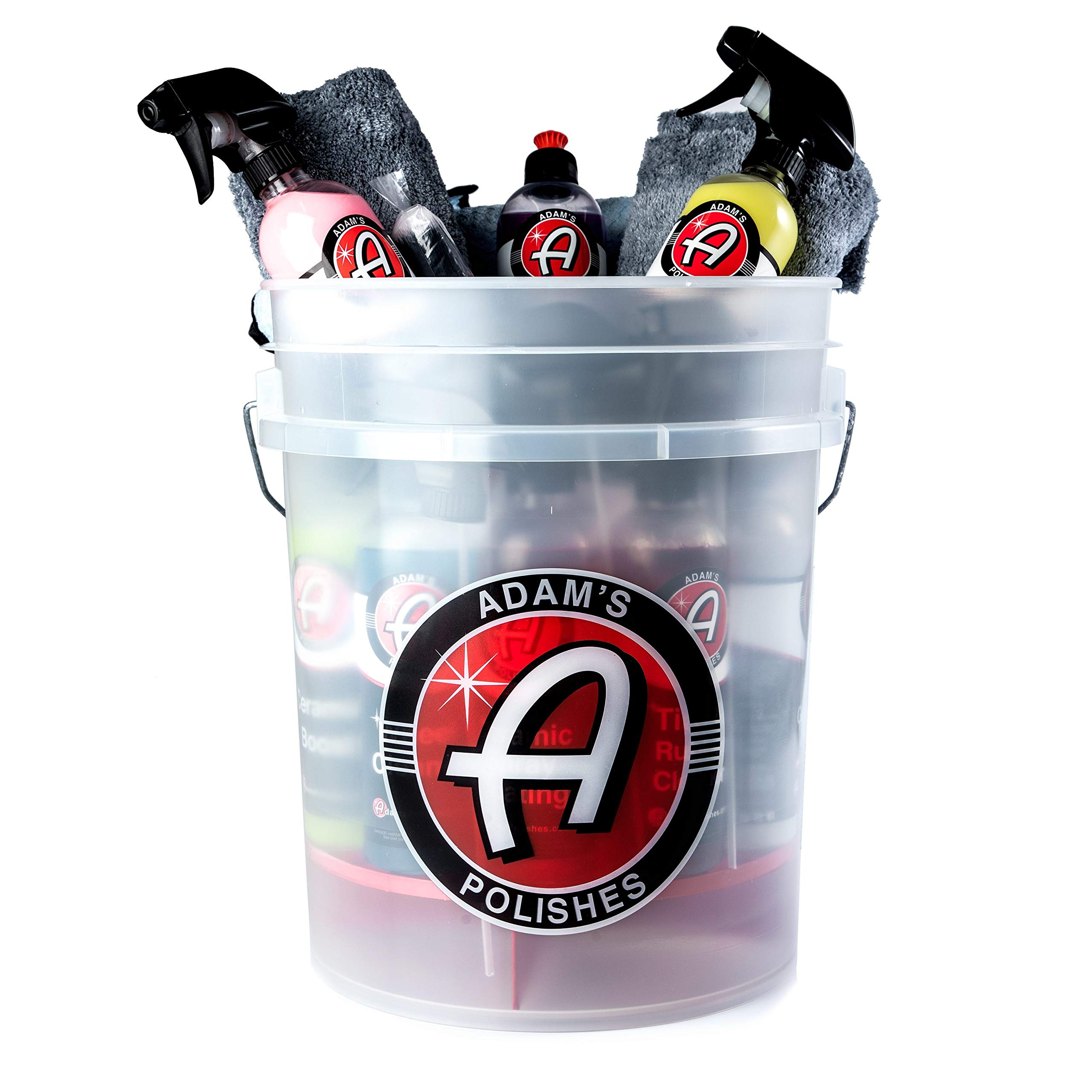 Adam's Mystery Car Wash Bucket - Premium Car Care Chemicals & Products with a Minimum $140 Value