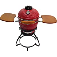 Beacon CRG113W-RD Ceramic Grill with Stand (Red)