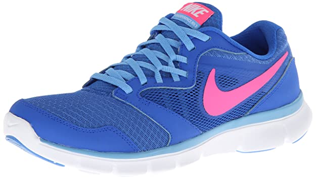 Nike Women's Flex Experience Rn 3 Hypr Cblt/Hypr Pnk Pnk/Unvrsty Bl Running Shoe 6 Women US