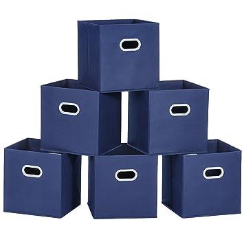 Amazon.com: Cajas de almacenamiento de ropa. Cubetas ...