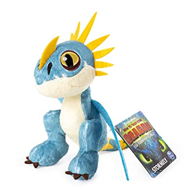 "Dreamworks Dragons, Stormfly 8"" Premium Plush Dragon, for Kids Aged 4 & Up: Toys & Games"