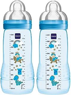 Easy Active Baby Bottle 270 ml f/ür Jungen MAM 67482211 Babyflasche