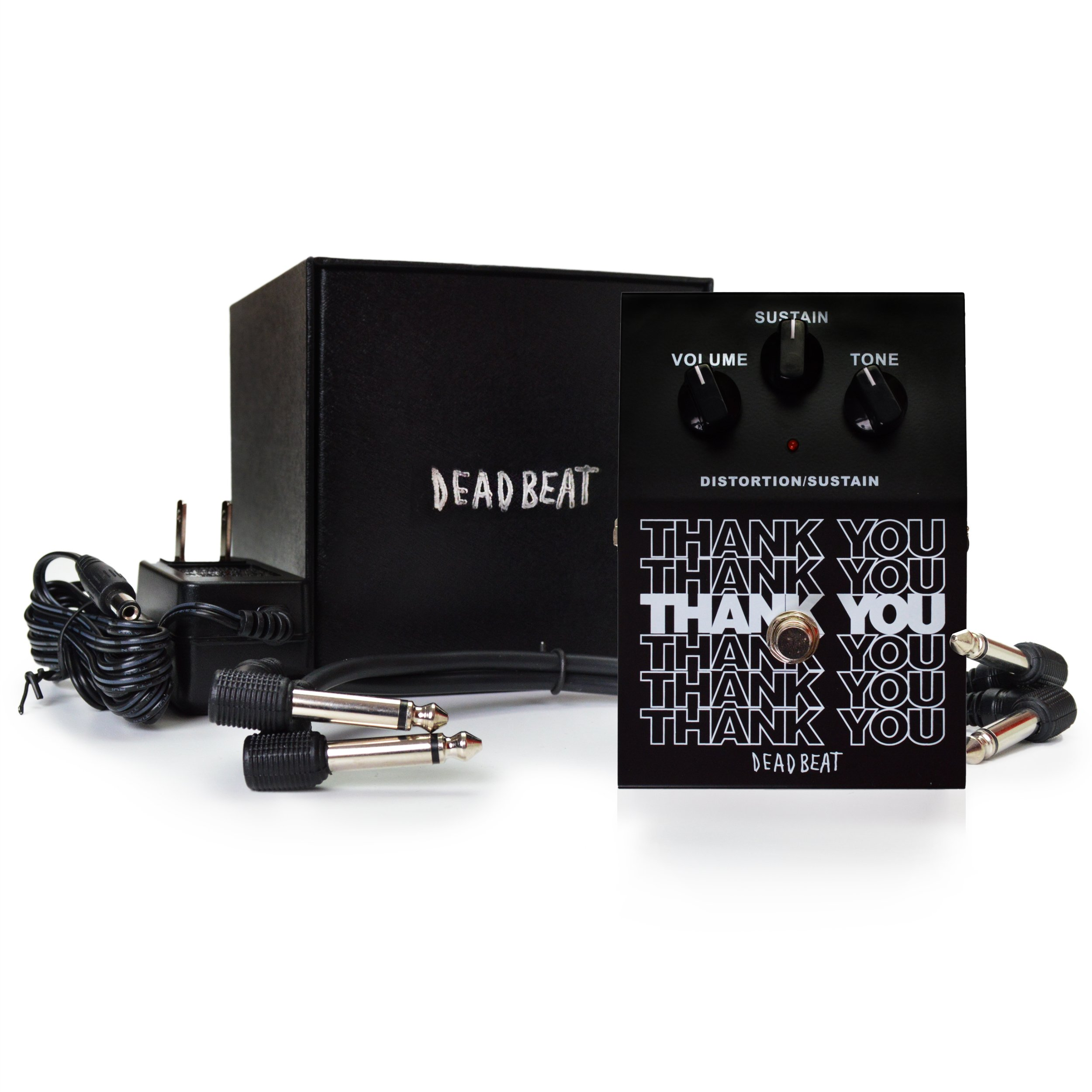 thank you distortion and sustain effect pedal by deadbeat sound guitar affinity. Black Bedroom Furniture Sets. Home Design Ideas