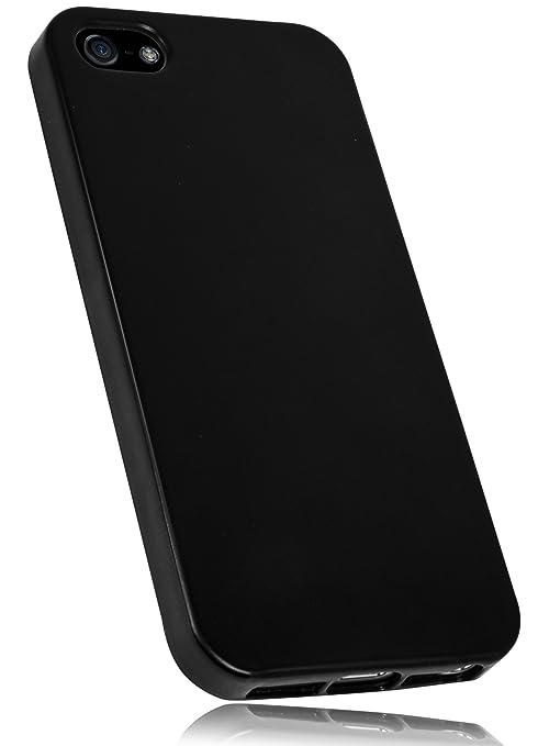 mumbi TPU Schutzhülle für iPhone SE 5 5S Hülle Tasche