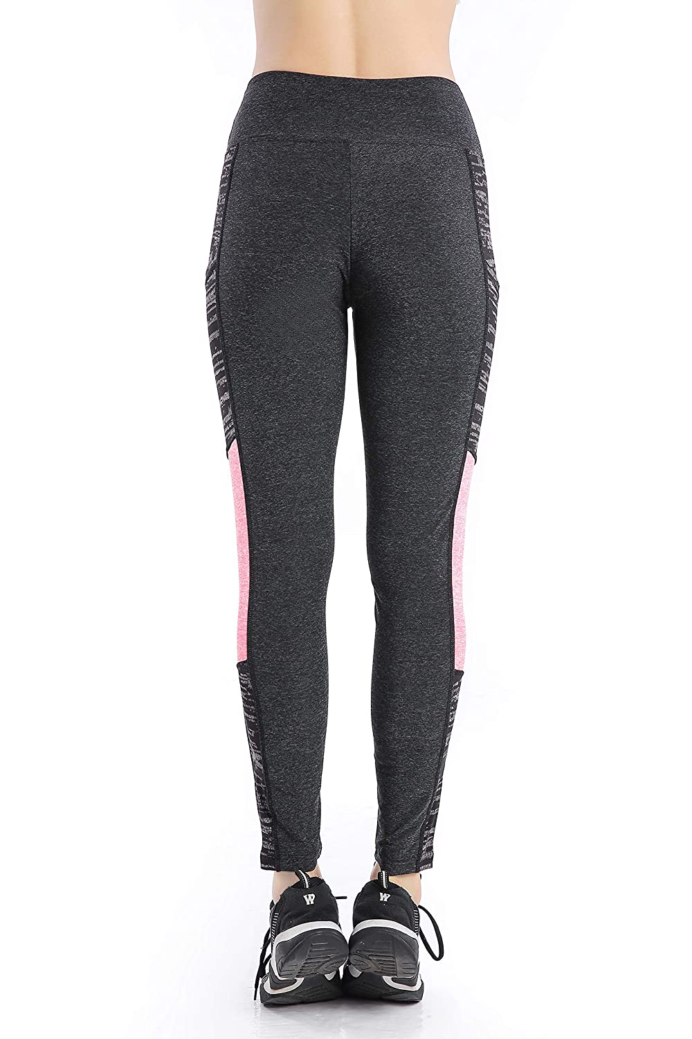 Nidalee Womens Yoga Pants High Waist Workout Leggings Running Tights with Pocket