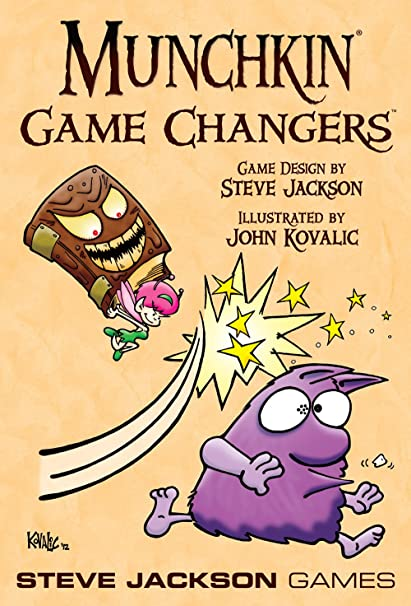 Steve Jackson Games Munchkin Game Changers Card Game Amazon
