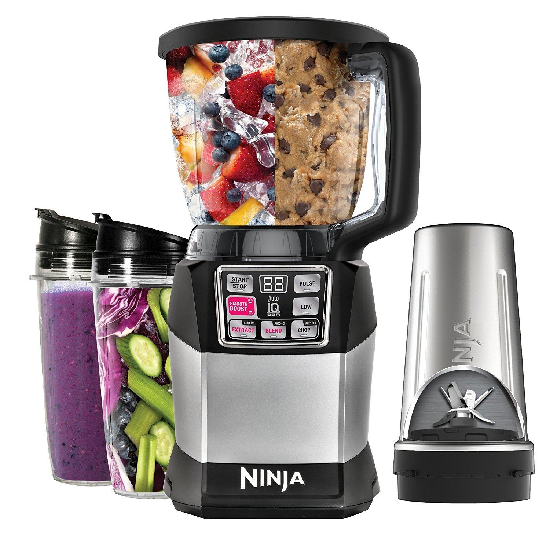 Ninja BL492 Auto-iQ Compact Blending System Blender (Renewed)