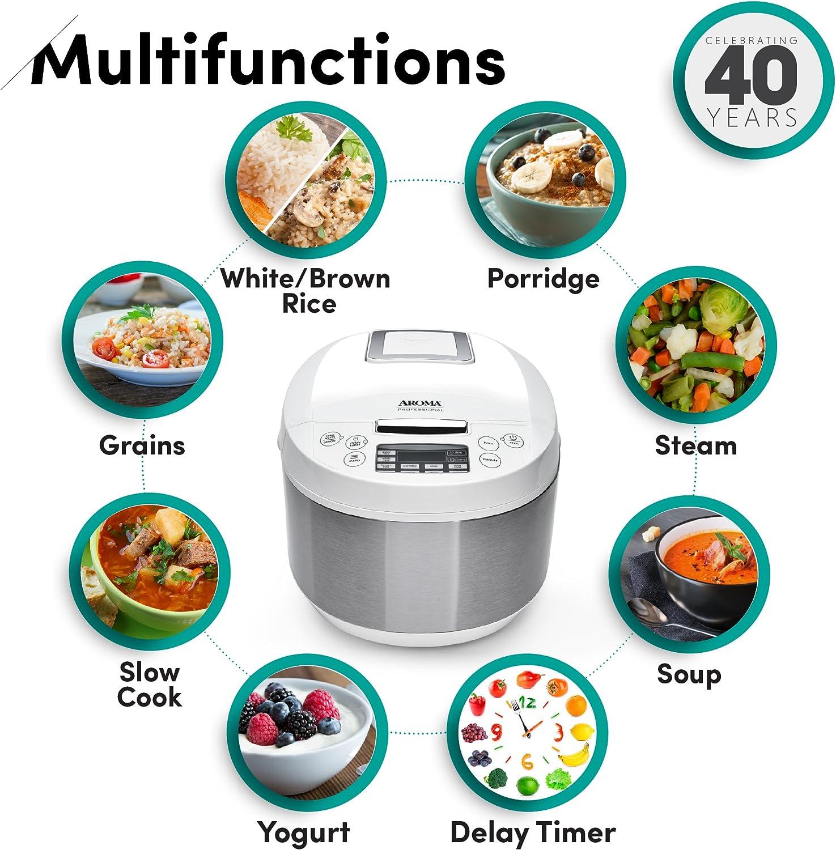 Aroma Housewares ARC-6206C Ceramic Rice Cooker/Multicooker