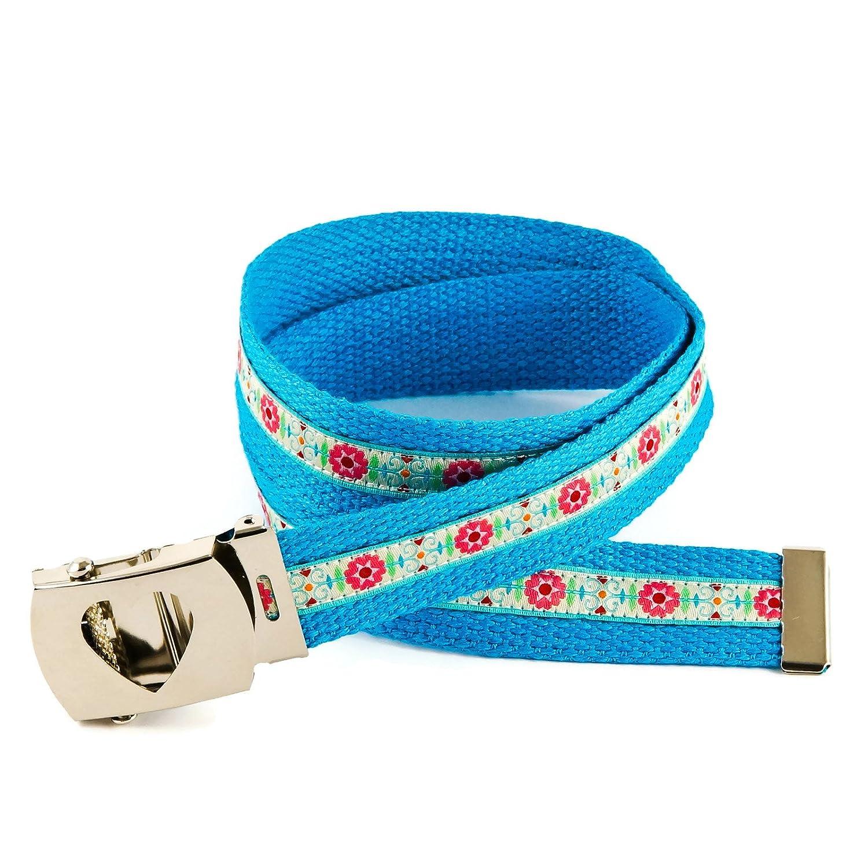 Anton & Sophie - Cinturón - para niña Azul Mittelblau 80 cm