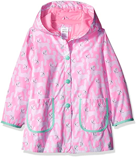 4cb6e8474bbc Amazon.com  Carter s Baby Infant and Toddler Girls  Printed Hooded ...