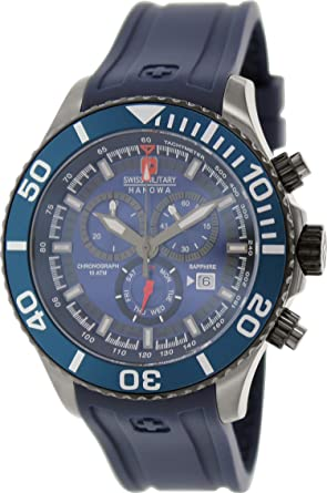 Swiss Military Hanowa Mens 06-4226-30-003-03 Blue Rubber Swiss