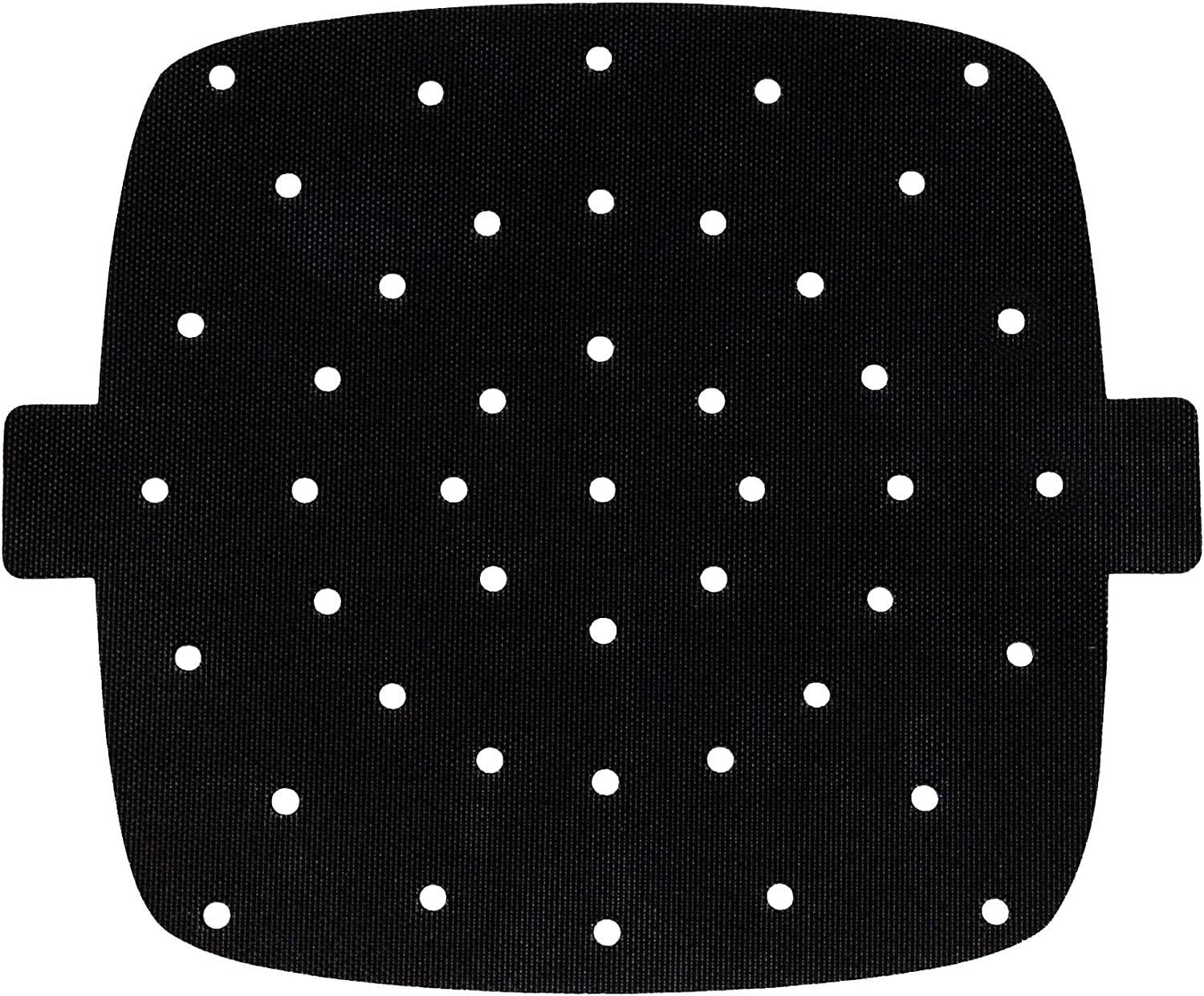 MATI Reusable Air Fryer Grill Mat Liners, Non Stick Accessory, Air Holes, Easy to Remove Tags, Easy to Clean, Extra Thick, Durable, Premium Food Grade Quality (9