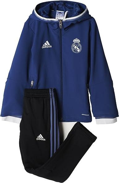 adidas Pre Suit I Chándal Real Madrid FC, Niños: Amazon.es: Ropa y ...