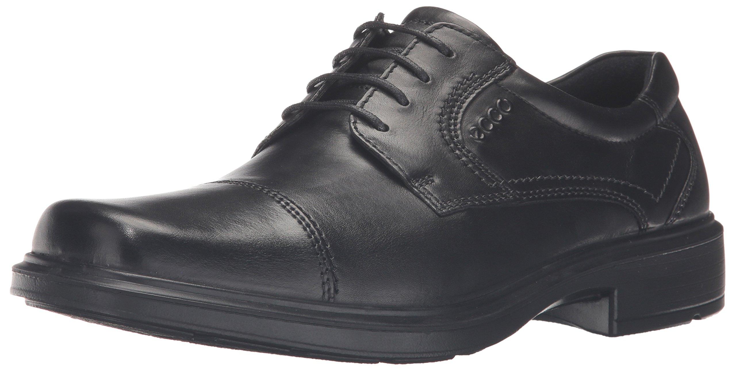 ECCO Men's Helsinki Cap-Toe Oxford Dress Shoe,Black,45 (US Men's 11-11.5) M