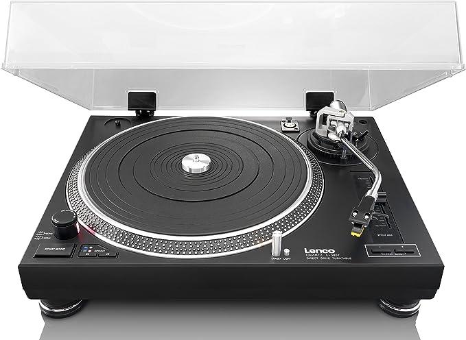 Lenco L3807 - Tocadiscos para Equipo de Audio, Negro: Amazon.es ...