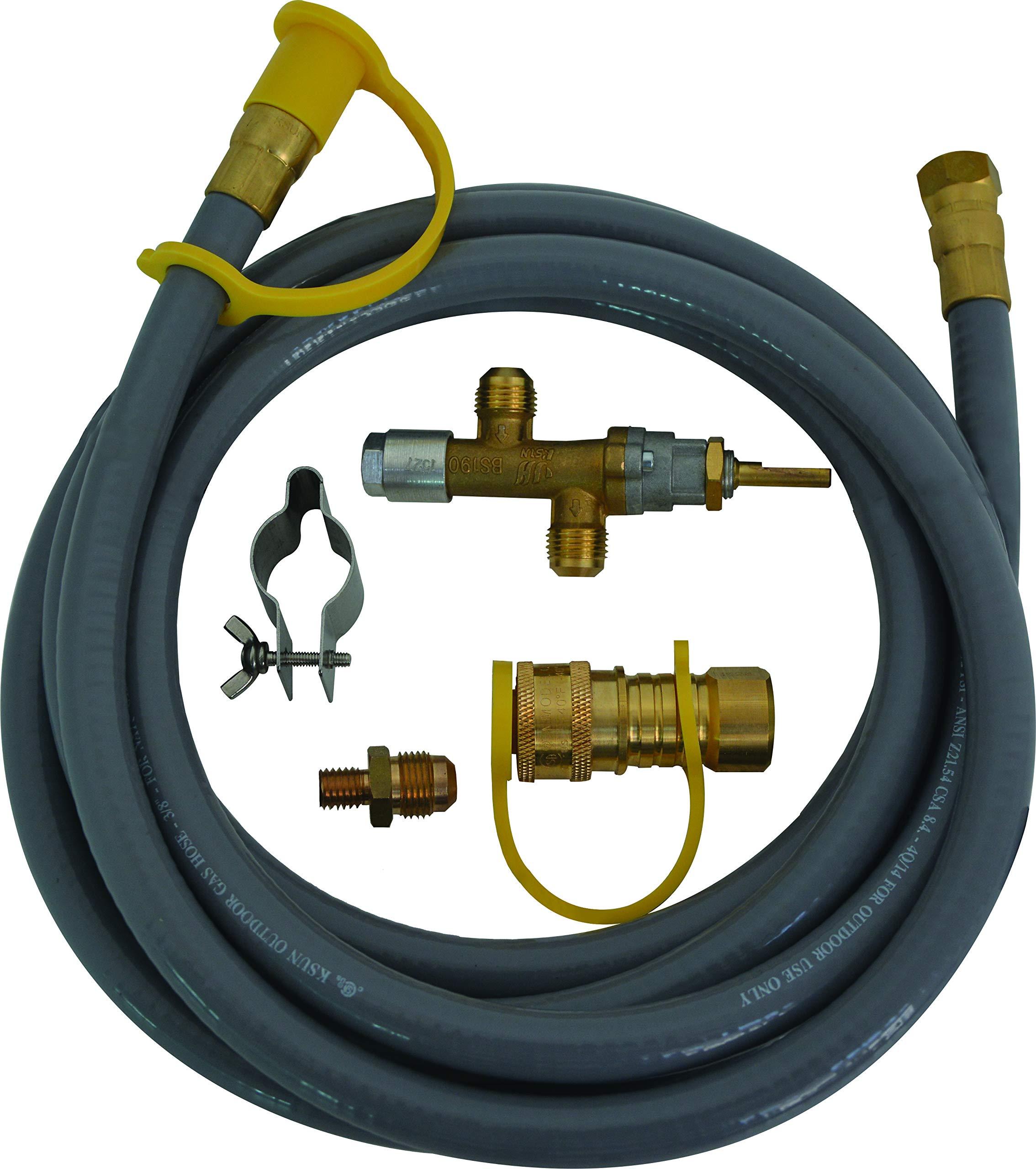 Bond Manufacturing 68588 70,000 BTU Natural Gas Converter Kit, Grey by Bond Manufacturing