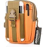 Overmont Marsupio Tessuto Oxford per Uomo Campeggio Trekking Viaggio Corsa All¡¯aperta Outdoor waist bag