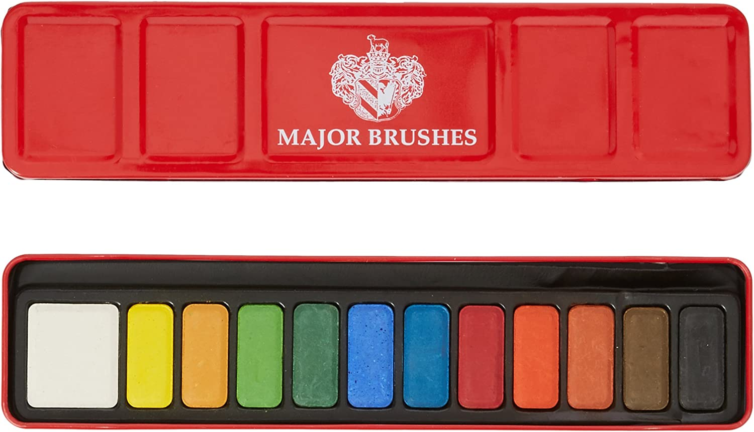 West Water Colour Tablet Set of 12 Red