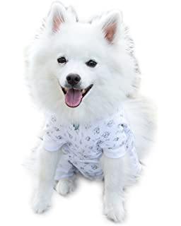 803b447f3d1c Cover Me by Tui Adjustable Fit Puppy Print Pullover with Short Sleeve for  Pets