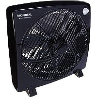 Circulador de Ar Mondial, Premium Black, 127V, 60W - CA-02-6P