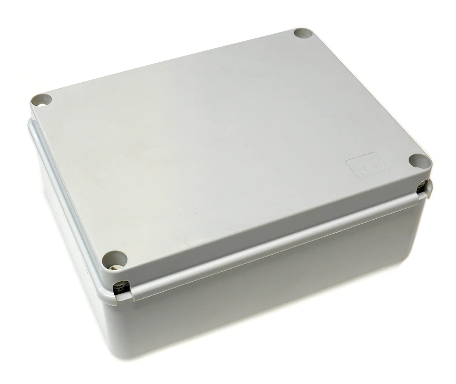 240x190x90 Waterproof Junction Box With Smooth Walls IP56 Adaptable Box JB245B Live Electrical