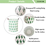 Large Collapsible Round Storage Bin/Cactus Storage