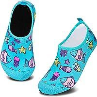 Zapatos de Agua para Niño Zapatillas Calcetines Secado RáPido Descalzo de Piscina Escarpiness Acuáticas Antideslizante…