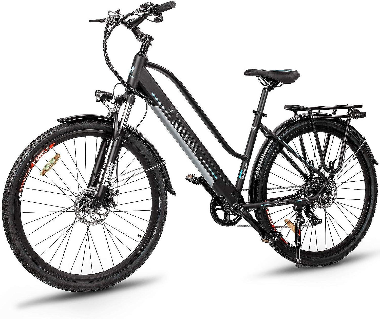 Electric Bikes for seniors - Macwheel 350W Electric Trekking Cruiser