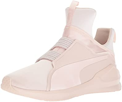 PUMA Women s Fierce Satin En Pointe Wn Sneaker Pearl 5.5 ... 3329feaa1