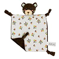 Little Archer & Co.™ Arla The Organic Cotton Baby Comforter – Breathable and Soft Security Blanket, Plush Toy…