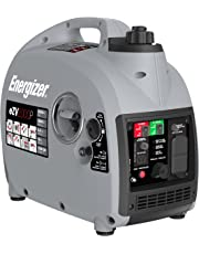 Energizer eZV2000P Quiet 2000-Watt Portable Inverter Generator with Parallel, CARB