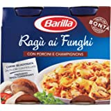 Barilla Sugo Ragù ai Funghi Porcini e Champignons, 180x2 gr