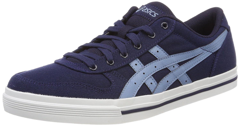 Asics Herren Aaron Sneaker, Grau  39.5 EU|Blau (Peacoat/Provincial Blue 5842)