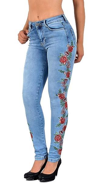 by Öko-Tex Mujer Jeans Mujer Barco Cut - Pantalones vaqueros ...
