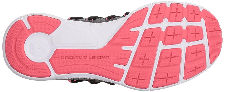 Under Armour Women's Charged Transit Running Shoe B072JBQ1TK 8.5 M US Black (002)/Overcast Gray