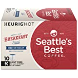 Seattle's Best Coffee Breakfast Blend Medium Roast Single Cup Coffee for Keurig Brewers, 3.5 oz, 6 Boxes of 10 (60 Total K-Cup pods)