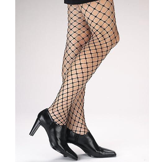 63fb1cfdb Amazon.com  Disguise Costumes Large Loop Fishnet Pantyhose