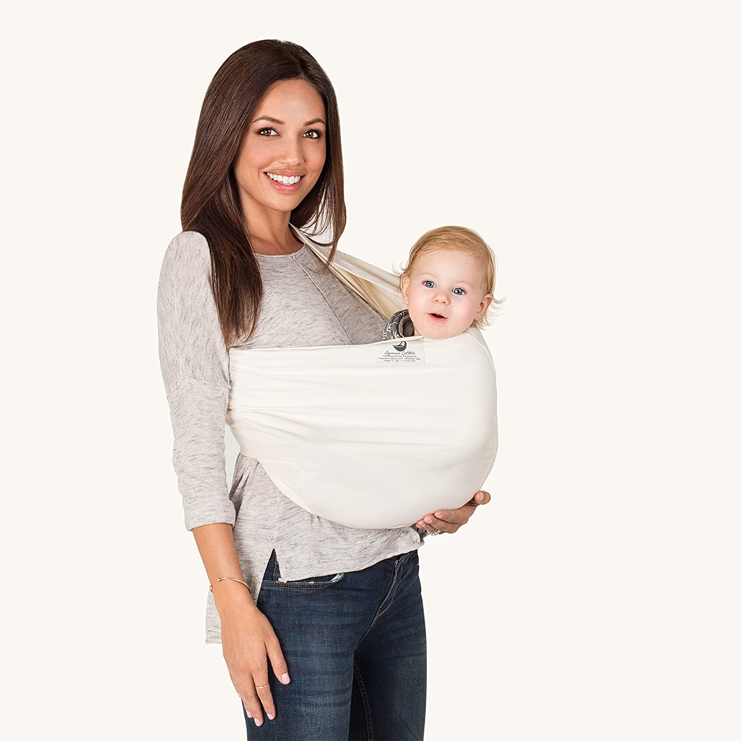 00dbc97bd55 Amazon.com   New Native Baby Carrier Organic (Medium)   Child Carrier Slings    Baby