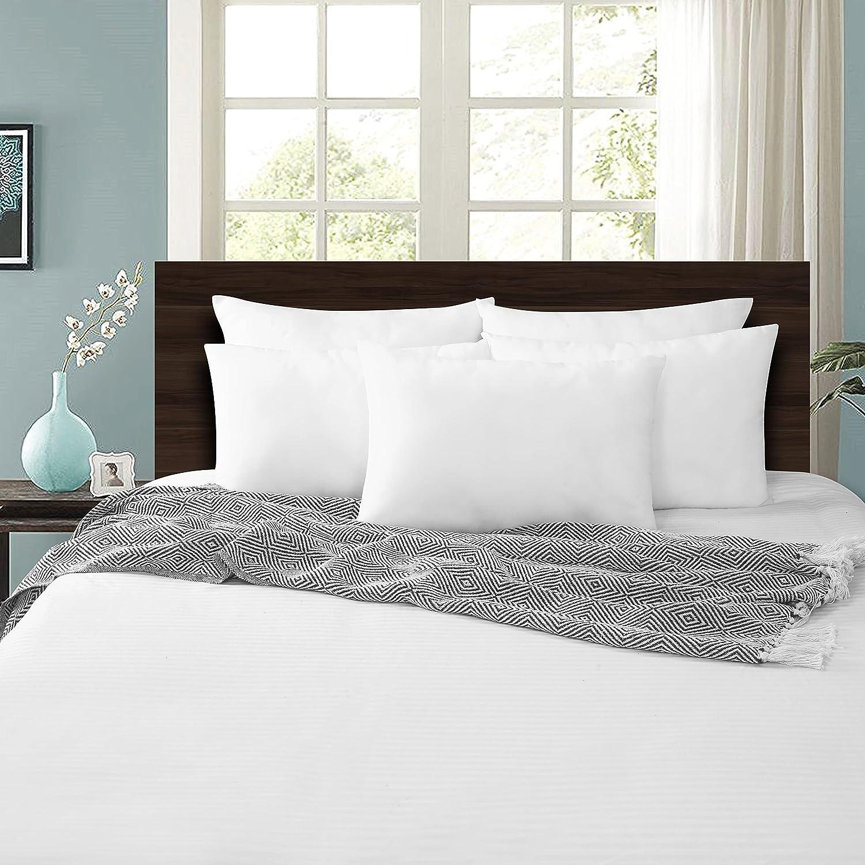 Sonnasoft Fibre Pillow Set 16x24 Inch Antique White Pack Of 5 Amazon In Home Kitchen