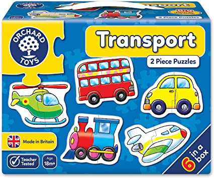 Orchard Toys Transport, Multi Color