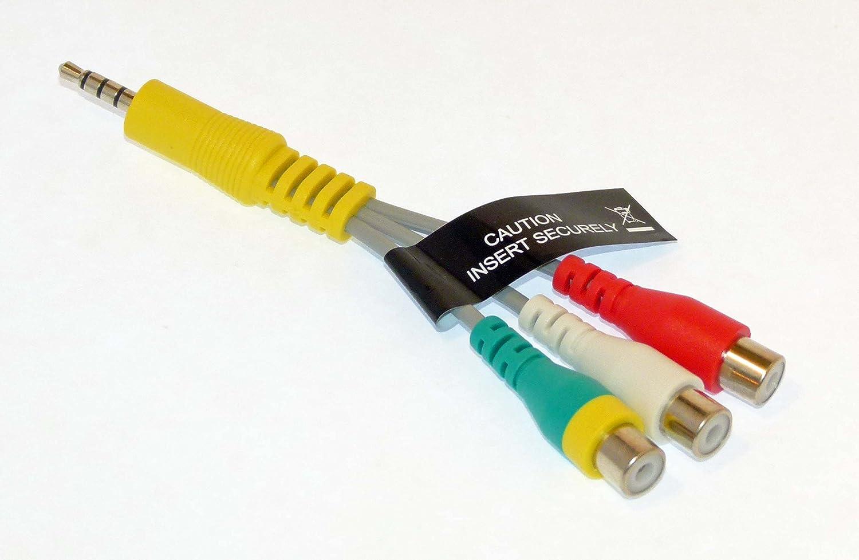 Amazon Com Samsung Av Cable Adapter Audio Video Un50ku6300f Un50ku6300fxza Un50ku630df Un50ku630dfxza Home Audio Theater
