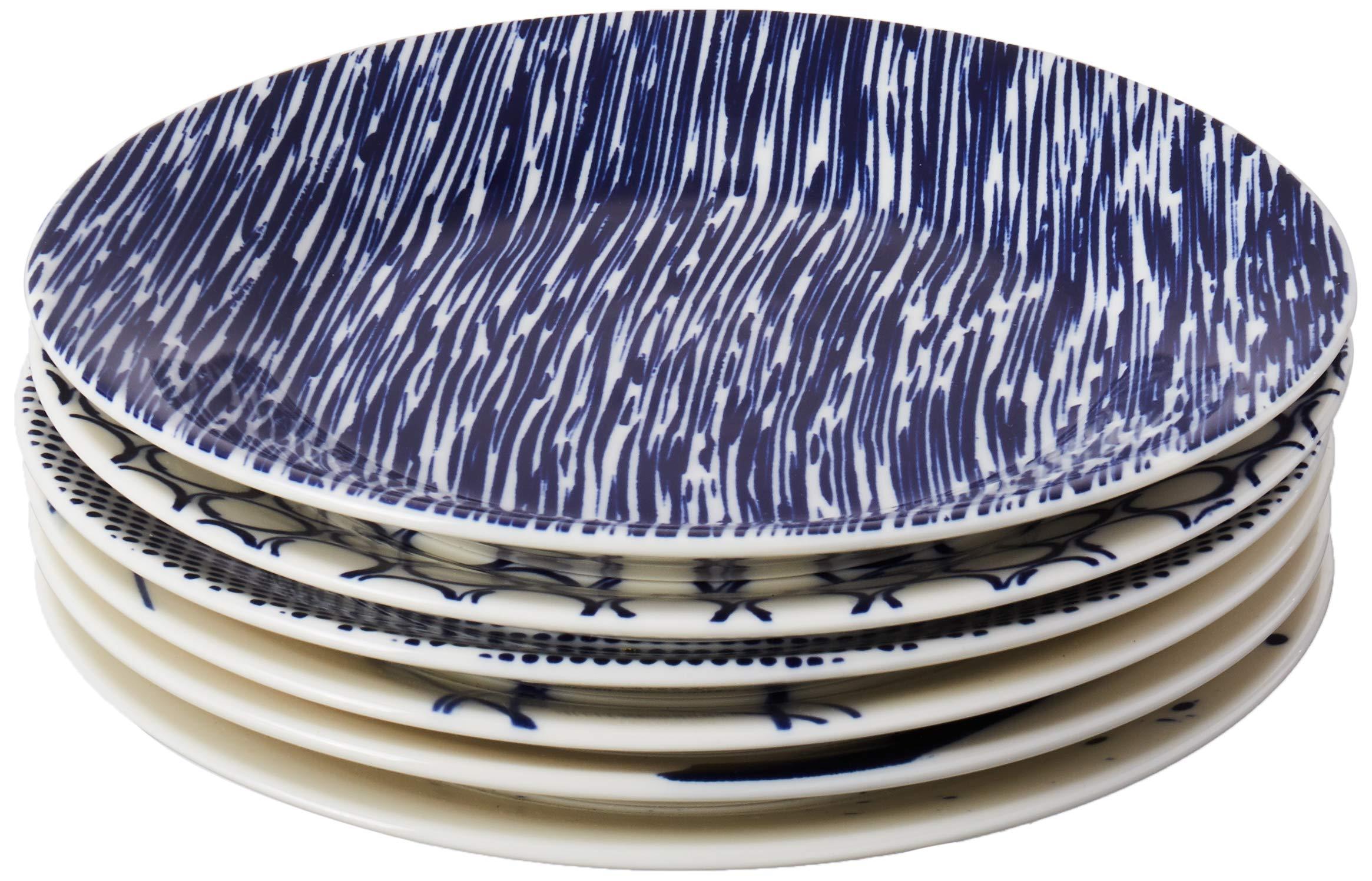 Royal Doulton Pacific Tapas Plates, 6.3-Inch, Blue, Set of 6 by Royal Doulton
