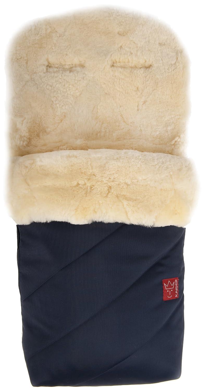 KAISER, Kaiser 65420-22 Sacco termico per passeggino, Paat, Pelliccia di agnello, Blu marine
