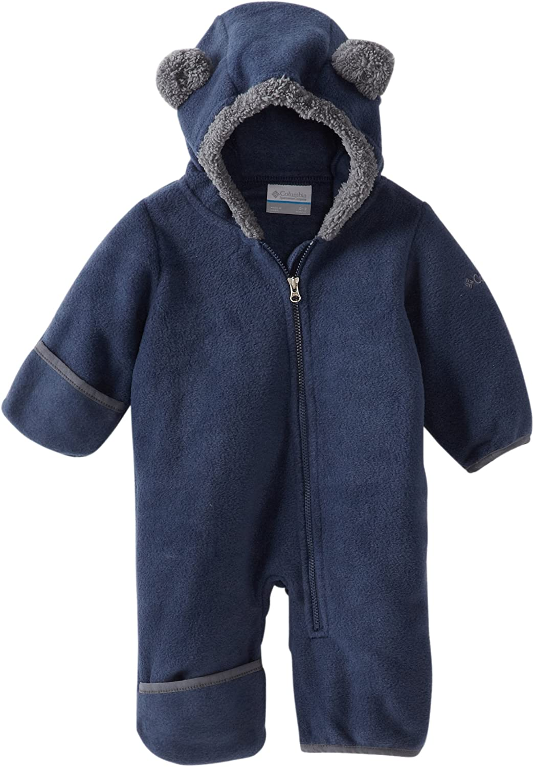 Columbia Baby Tiny Bear II Bunting, Warm Soft Fleece