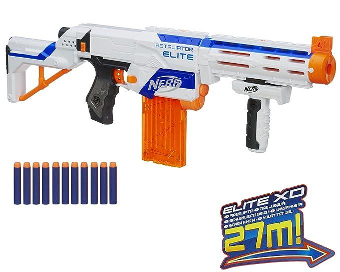 Amazon Nerf N Strike Elite Xd Retaliator Toys Games