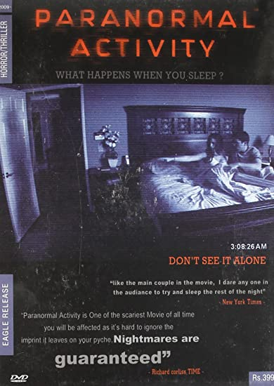 Amazon in: Buy Paranormal Activity DVD, Blu-ray Online at