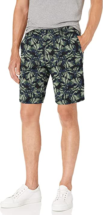 "Goodthreads Amazon Brand Men's 9"" Inseam Hybrid Short"